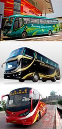 Bus to Sibu