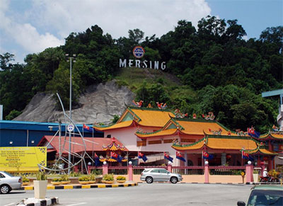 Bus from Johor to Mersing