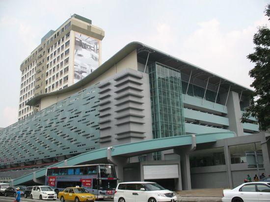 Malaysian bus terminal