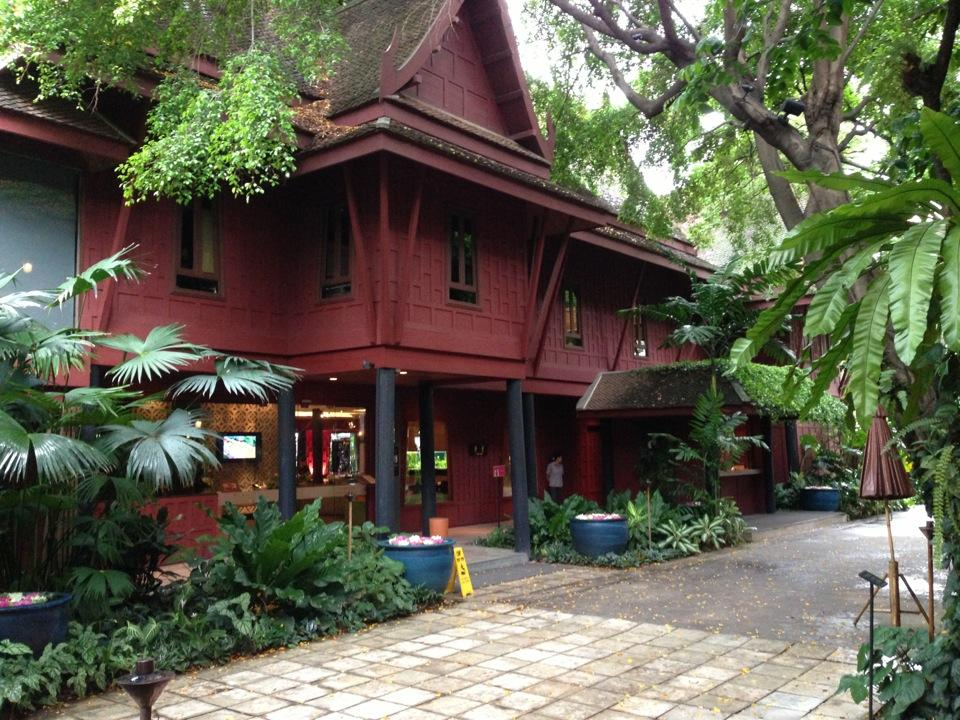 Tour jim thompson house for The thompson house