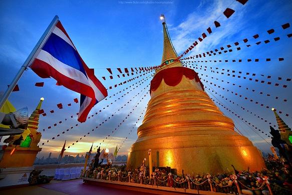 Tour  The Golden Mount (Wat Saket)
