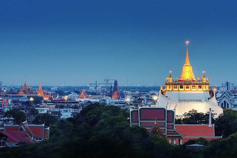 Tour  The Golden Mount (Wat Saket)