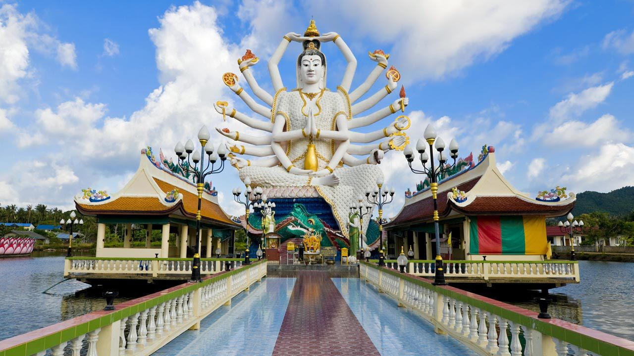 Image result for wat plai laem