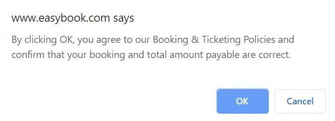 Flight Confirmation Payment