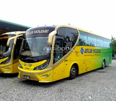 Easybook.com partners with Antar Holiday to Provide Online Bus Ticketing Service