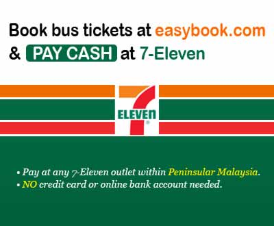 Easybook Now Accepts Cash Payments Through 7-Eleven In Peninsular