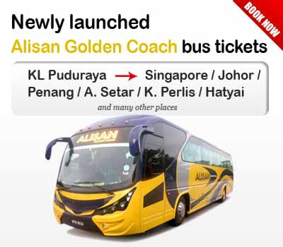 Newly Launched Alisan Golden Coach Tickets by Easybook.com
