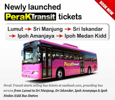 Easybook Partner with Perak Transit to Offer Online Bus Ticket Service