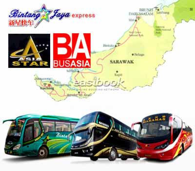 Easybook.com partners with 3 Sarawak Bus Companies to Offer Online Bus Ticketing Service