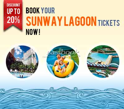 Easybook.com Offering A 20% Off For Sunway Lagoon Daily Pass