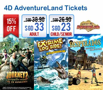Easybook.com Offers 15% Off for 4D AdventureLand Tickets
