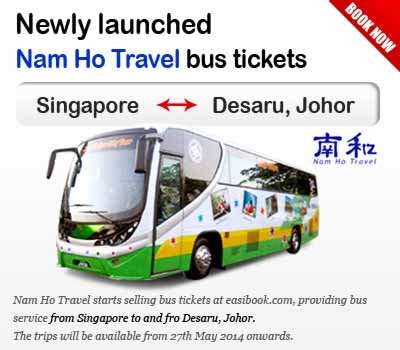 Easybook.com partners with Nam Ho Travel to Introduce New Route to Desaru