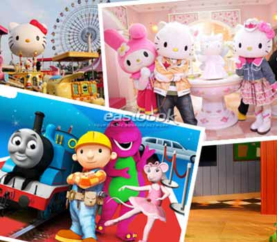 Easybook.com Offers Cheaper Rate for Hello Kitty Town & Little Big Club Tour Package