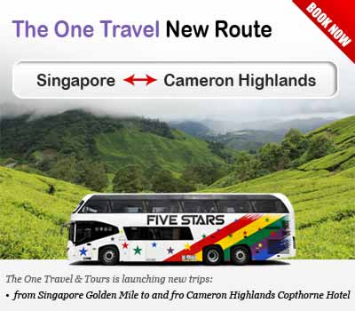 The One Travel & Tours Launched New Route to Cameron Highlands