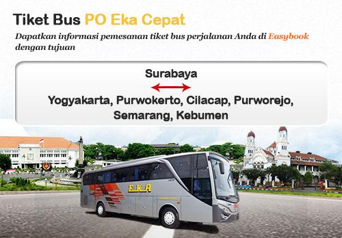Baru Diluncurkan Tiket Bus Po Eka Cepat Easybook Id