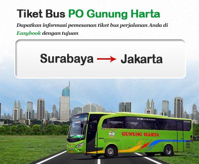 Baru Diluncurkan Tiket Bus Po Gunung Harta Easybook