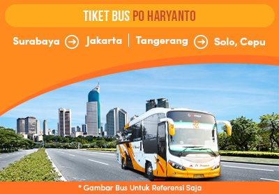 Newly Launched PO Haryanto Bus Tickets