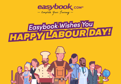Happy Labour Day from Easybook!