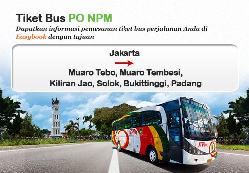 Baru Diluncurkan Tiket Bus Po Npm Easybook Mm