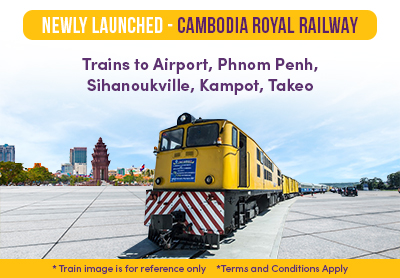 Easybook's Newly-Launched Cambodia Royal Railway