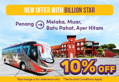 10% on New Trips by Billion Star