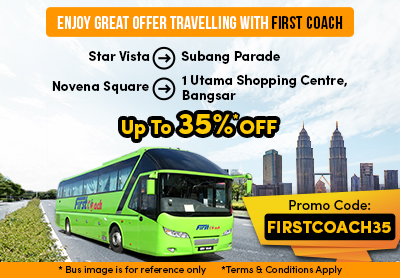 Enjoy Up To 35% Discount Travelling with First Coach!