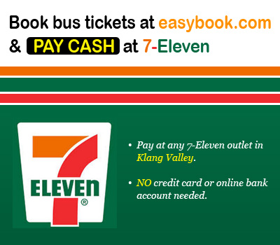 Book bus tickets at easybook com & pay CASH at 7-Eleven | Easybook®
