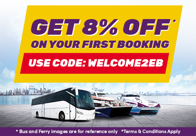 Get 8% Discount On Your First Booking!