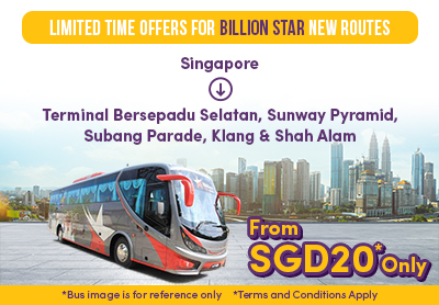 Limited Time Offers for Billion Star's New Routes