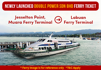 Newly Launched Double Power Sdn Bhd Ferry Ticket on Easybook