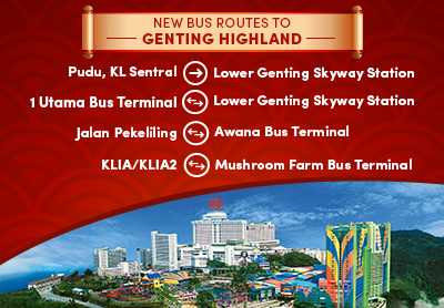 Great News Newly Launched Bus Routes From Kuala Lumpur To