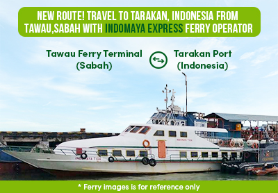 New Route Travel To Tarakan Indonesia From Tawau Sabah
