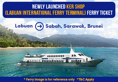 KER Shop (Labuan International Ferry Terminal) Ferry Ticket is Available on Easybook now!