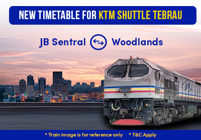 New Timetable for KTM Shuttle Tebrau