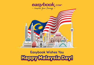 Happy Malaysia Day from Easybook!