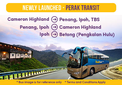 EEasybook's Newly-Launched Perak Transit