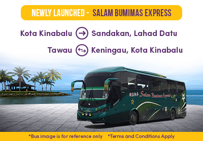 Easybook's Newly-Launched Salam Bumimas Express