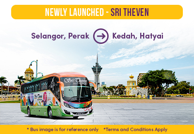 Easybook's Newly-Launched Sri Theven Express