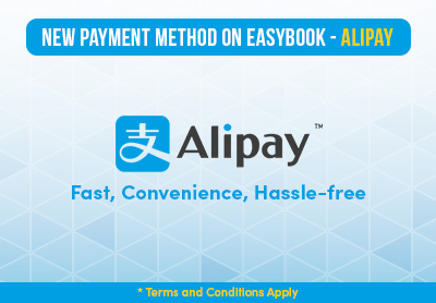 Alipay is Available on Easybook Now!