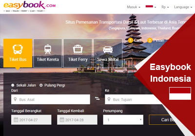 Easybook Indonesia: We Have Got A New Look
