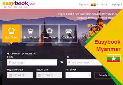 Easybook Myanmar: We Have Got A New Look