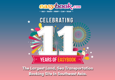Easybook is celebrating its 11th birthday this July