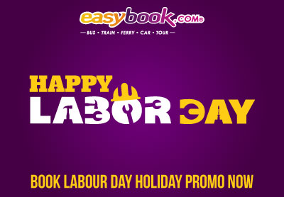 Happy Labour Day! Book Labour Day Holiday Promo Tickets Now.