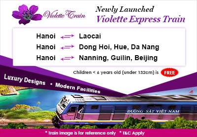 Violette Express Train is Available Now on Easybook