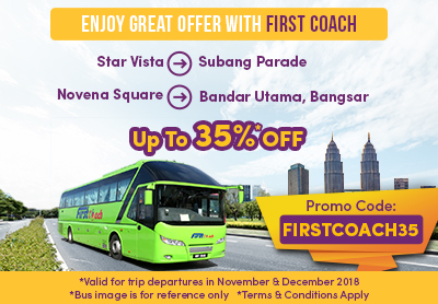 Enjoy Up To 35% Discount from First Coach!