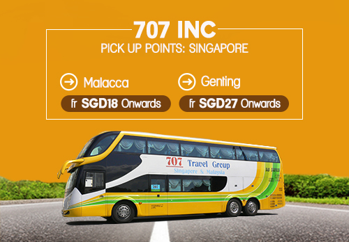 Bus Ride From Singapore With 707 Inc
