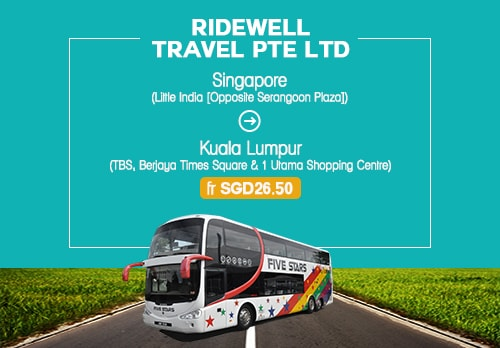 Bus Ride From Singapore With Ridewell Travel