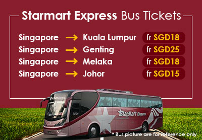 Bus Ride From Singapore With Starmart