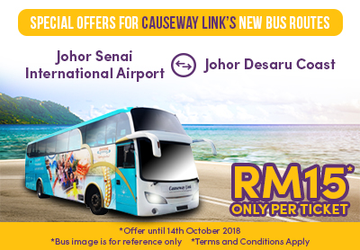 Special Offers for Causeway Link's New Bus Routes