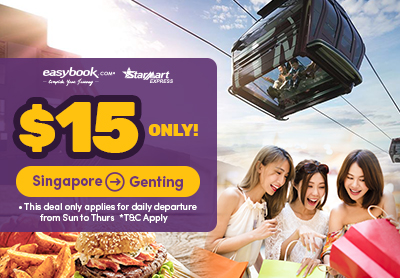 Limited time deal: $15 ONLY to Genting!